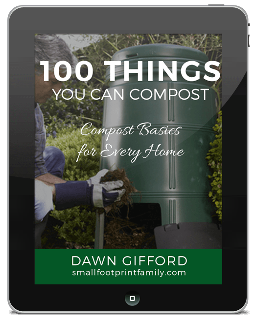 ipad cover art for 100 Things You Can Compost