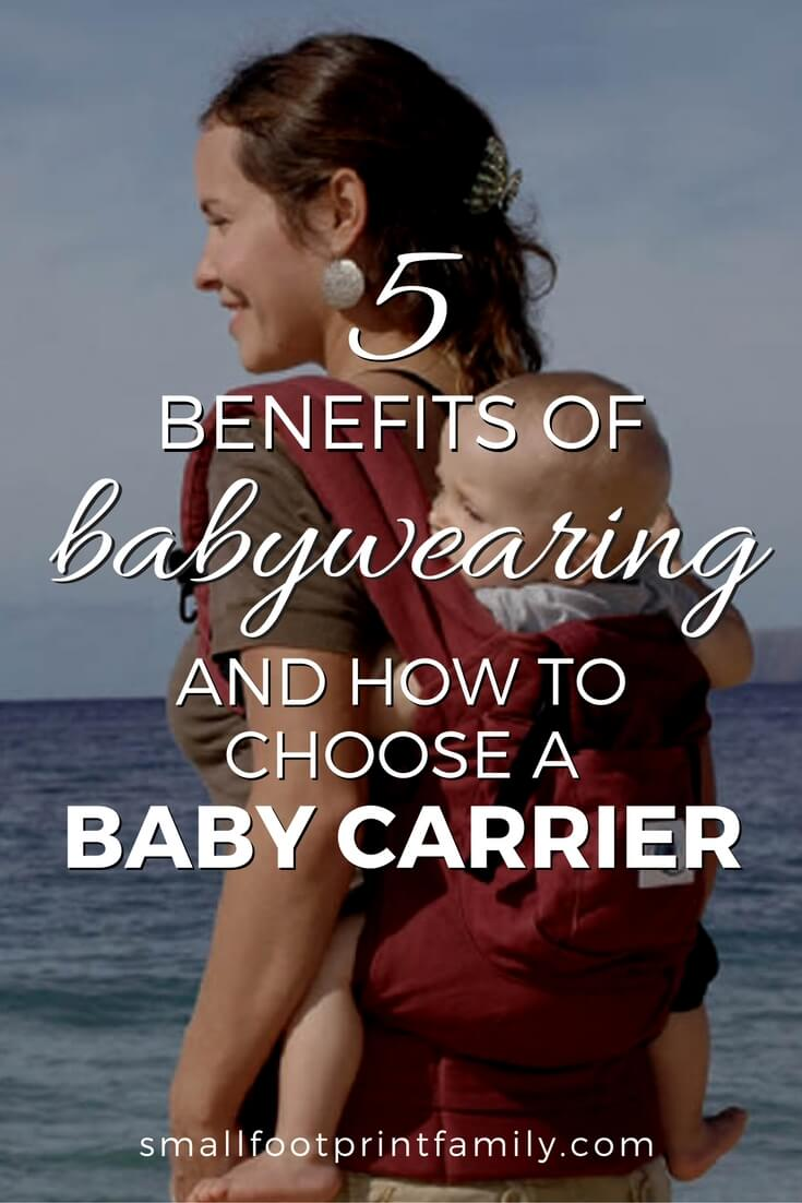 For most of human history, there have been no strollers. Babywearing today is using timeless wisdom for great benefits in modern times, for parents, babies and the earth. Here's how and why you should wear your baby.#greenliving #greenparenting #ecofriendly #sustainability #kidfriendly #naturalliving #attachmentparenting #greenbaby #moneysavers #naturalparenting
