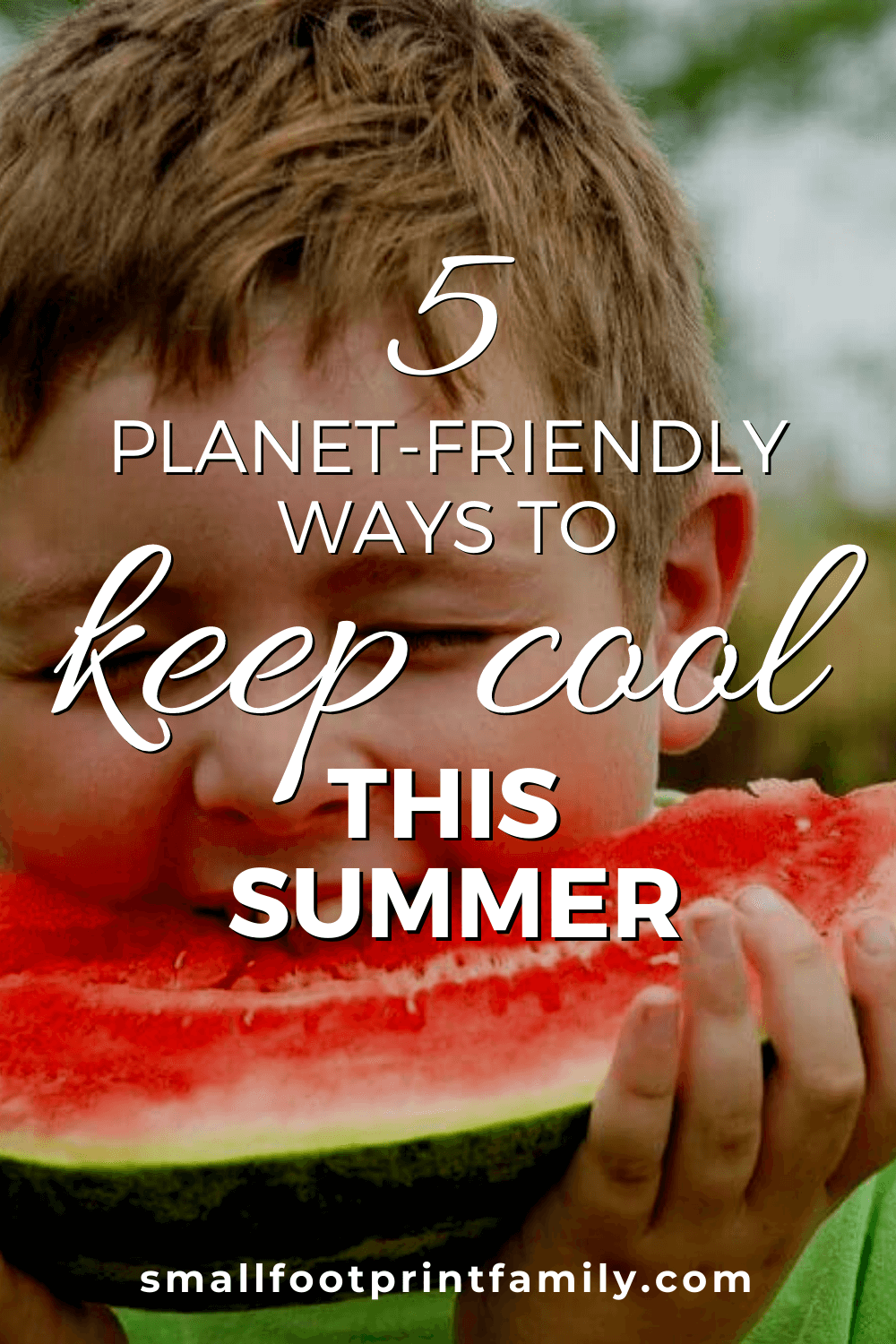 While you might not be able to quit using air conditioning entirely, here are five tips on keeping yourself cool in an environmentally responsible manner, no matter where you happen to be.#greenliving #greenparenting #ecofriendly #sustainability #gogreen #naturalliving #climatechange #energysaving #moneysavers #savingmoney