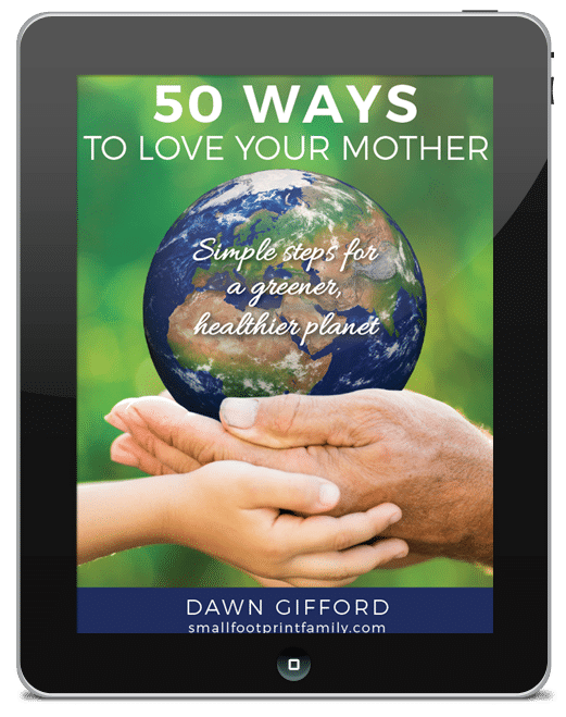 "With 50 simple ""entry-level"" ways to live a more sustainable lifestyle, the baby steps in this book will go easy on the planet, and your your wallet, too."