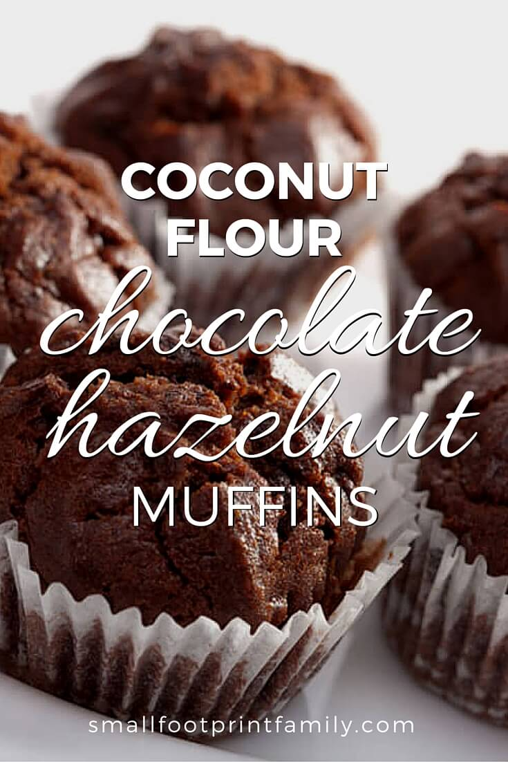chocolate hazelnut muffins on a white plate coconut flour chocolate hazelnut muffins can be sweetened mostly with stevia, so they help you get your chocolate fix with a bare minimum of added sugar.