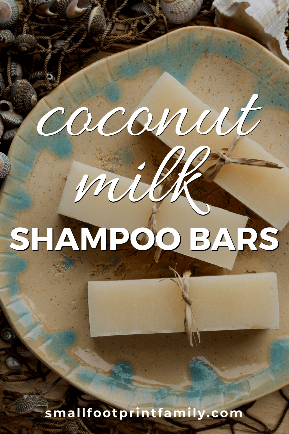 coconut milk shampoo bar recipe | small footprint family