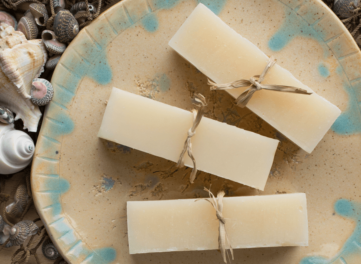 coconut milk shampoo sticks