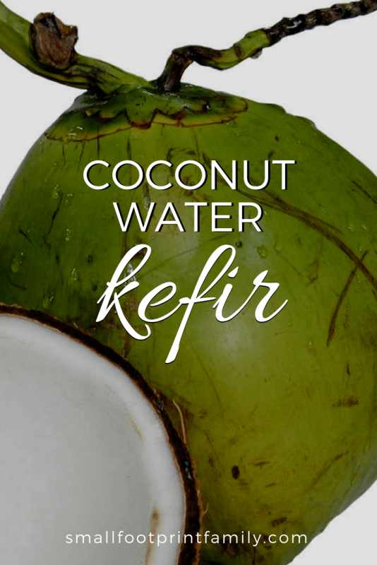 young green coconuts to make coconut water kefir