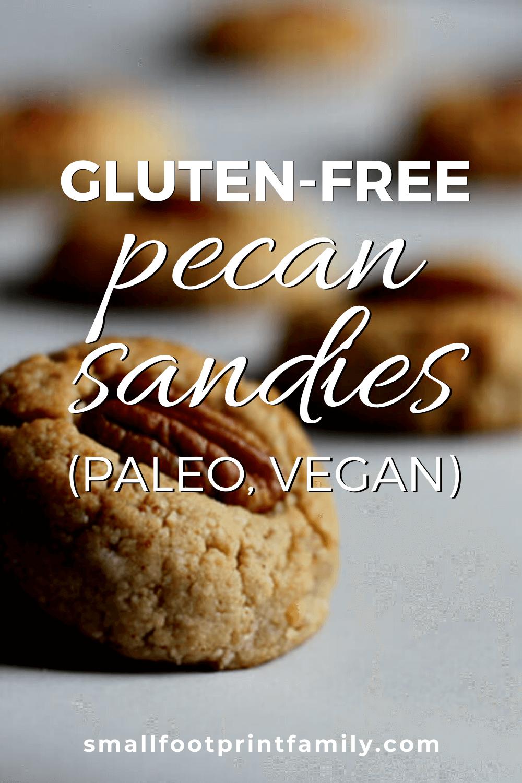 gluten free pecan sandies