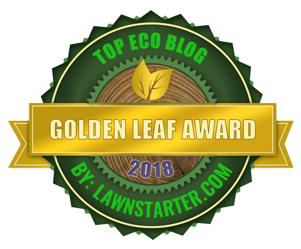 Golden Leaf Award 2018 for Top Eco Blog