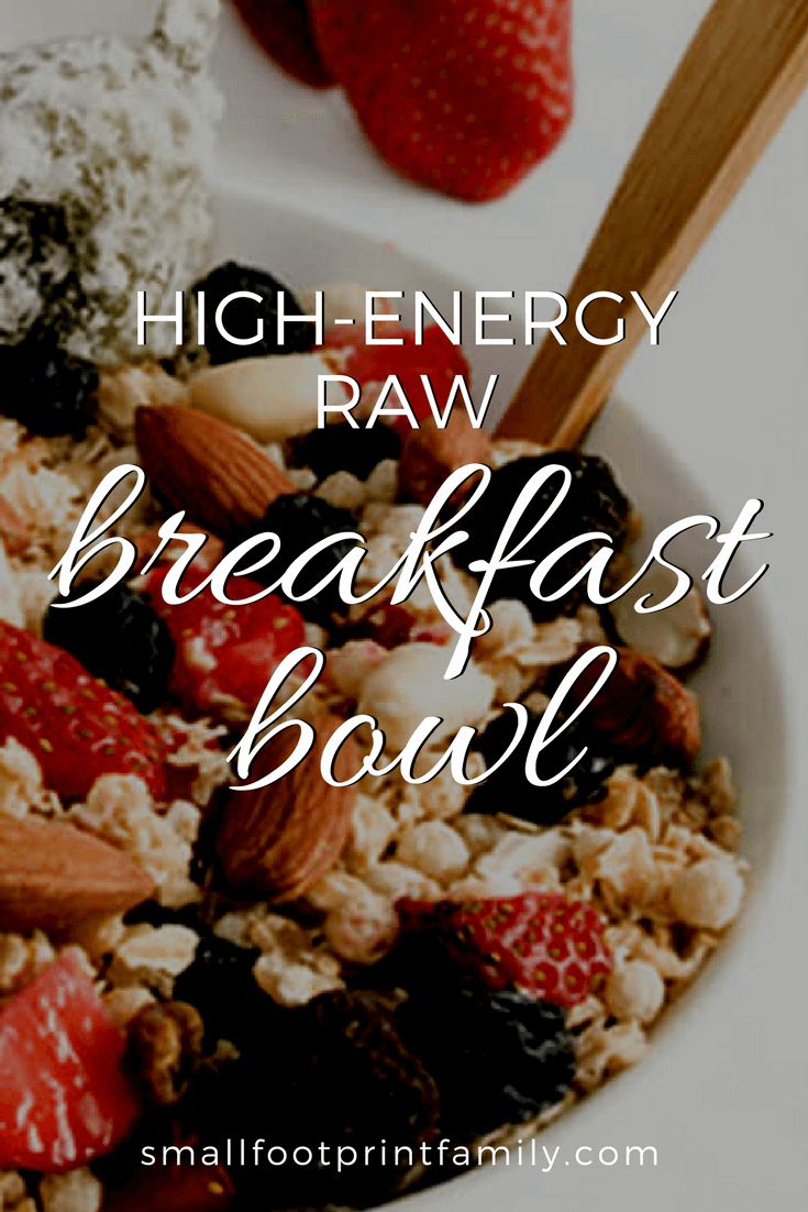 This raw breakfast cereal is very nutritious and filling. It is especially good if you do a lot of physical work in the morning that requires extra energy. Click to get the recipe!#paleo #paleodiet #glutenfree #dairyfree #vegan #vegetarian  #rawvegan #recipe #grainfree #realfood