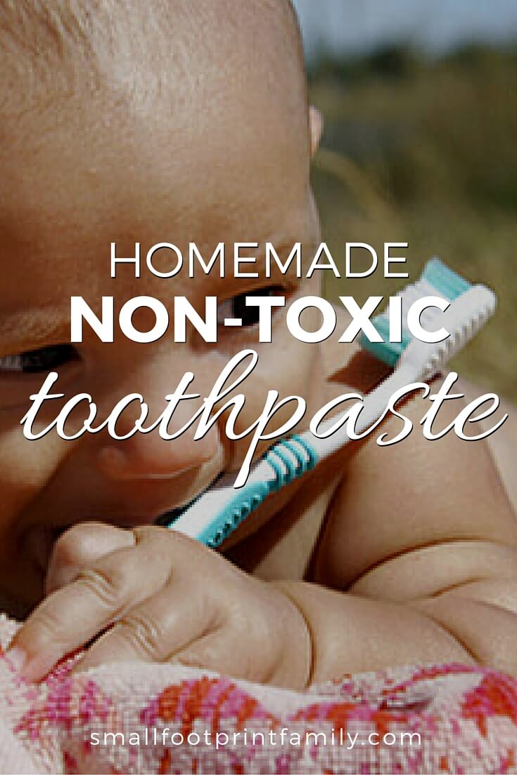 Here's a homemade toothpaste recipe without fluoride, glycerine and other additives that aren't good for you, your teeth, or the environment.
