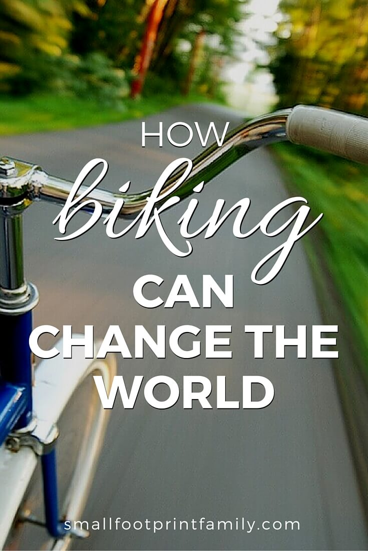There are many important reasons why you should ride your bike. Bikes can not only save your health, but can save our planet too. Click to find out why.#greenliving #greenparenting #ecofriendly #sustainability #gogreen #naturalliving #climatechange #globalwarming