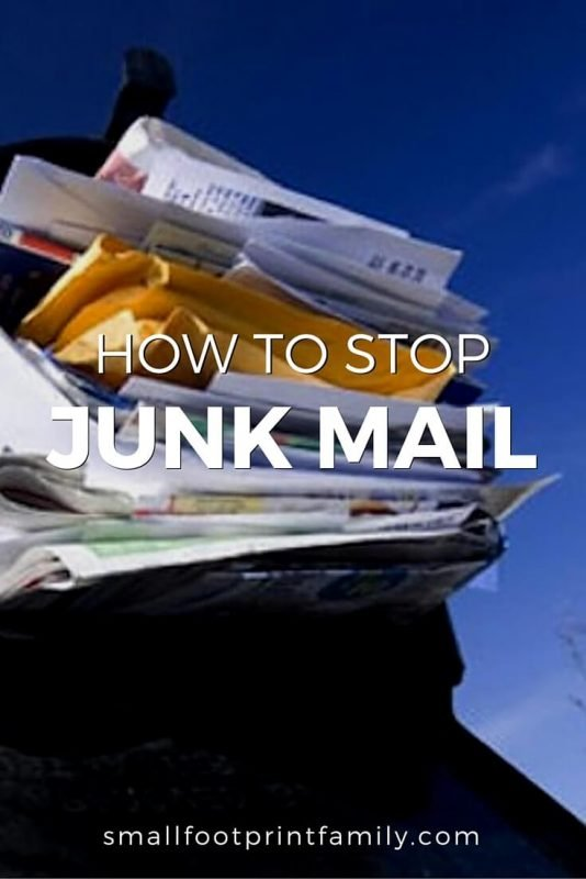 Each year, we each get nearly 600 pieces of junk mail and waste about 8 hours dealing with it. The trees, oil, water and other resources squandered on stuff that goes straight to the recycling bin is unconscionable. Here are some ways to stop this incredibly wasteful annoyance.