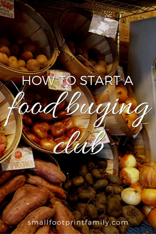 When you know how to start a food buying club, you can not only save a ton of money, but you can also connect with the food produced in your region and build a real sense of community in your social group.
