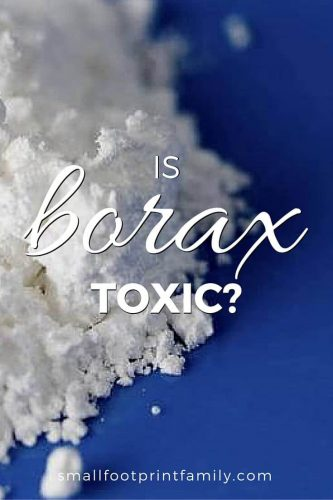 Many people are concerned about whether borax is safe to use. There are many sites on the internet claiming borax is toxic. But there is a lot of better evidence that it is safe. Click to learn why...