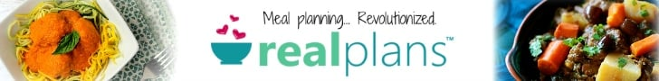 Real Plans Meal Planning App