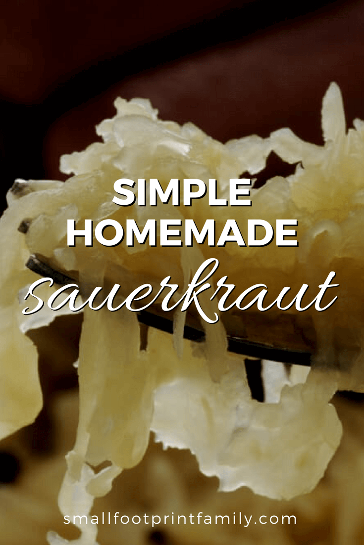 If you've only eaten store-bought or canned sauerkraut, you owe it to yourself to try the fermented homemade variety. Here is how to make sauerkraut.#paleo #paleodiet #vegan #vegetarian  #rawvegan #recipe #grainfree #realfood #fermentation