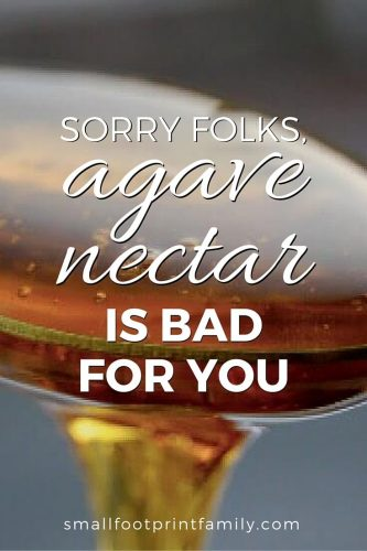Many people don't realize that the concentrated fructose in agave syrup is bad for you —worse than high amounts of glucose, especially if you are diabetic. Click to learn why!