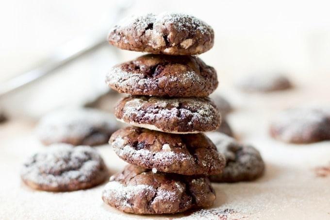Paleo Sweet Beet Chocolate Crinkles