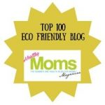 Top 100 Eco Friendly Blogs Badge
