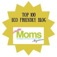 Top 100 Eco Friendly Blogs Badge