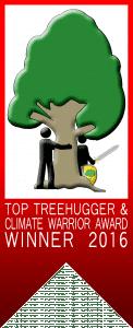 Treehugger Awards Badge