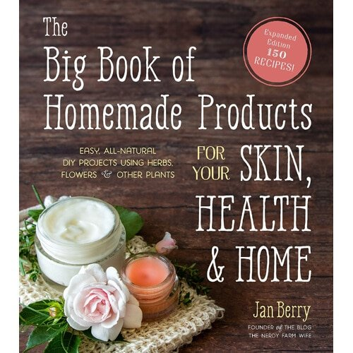 cover art for The Big Book of Homemade Products for Your Skin, Health and Home