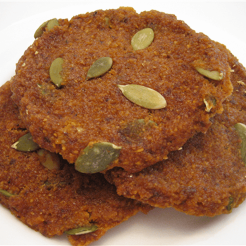 Raw Butternut Squash Cookies