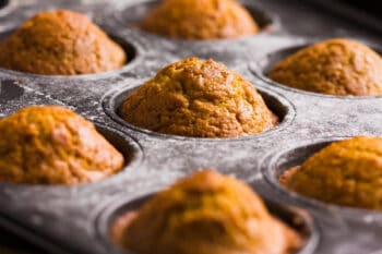 This delicious recipe for coconut flour pumpkin muffins contain a modicum of nutrition, owing to the many eggs, nuts and veggies you can include in them. Click here to get the recipe!