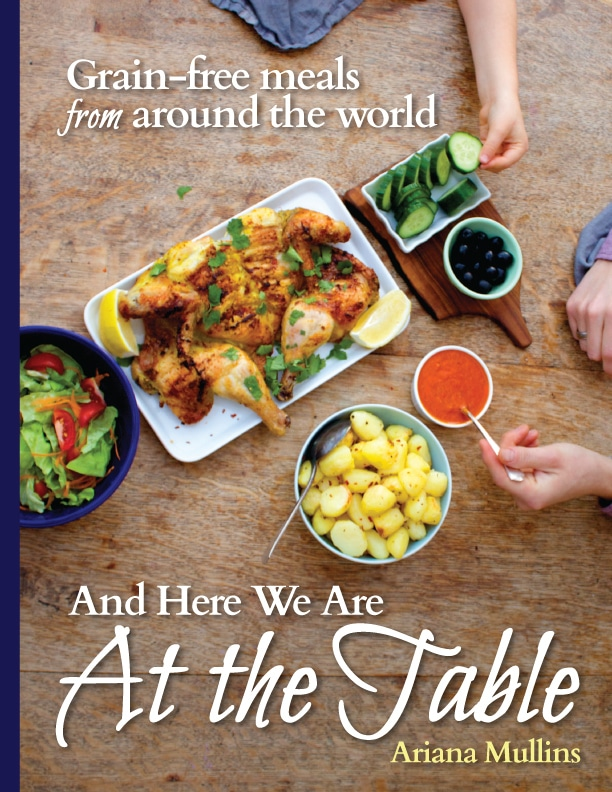cover for And Here We Are At the Table