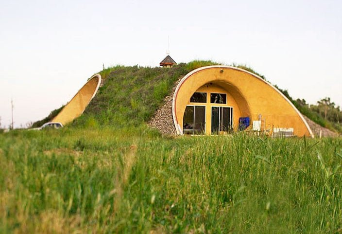 Earth Sheltered Home