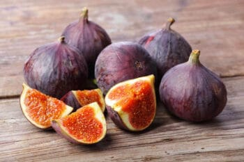 Figs are in season during mid to late summer. Here are two scrumptious fresh fig recipes to help you enjoy the bounty of these special fruits.