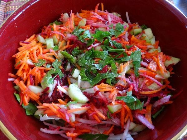 2 Kohlrabi Salad Recipes
