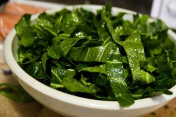 This recipe for mustard greens with garlic mayonnaise will help you get the most out of this piquant, easy-to-grow, nutritional powerhouse.