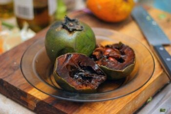 "Sometimes called the ""chocolate pudding"" fruit, sapotes are related to persimmons. Here are two sapote recipes to help you enjoy this unusual fruit."