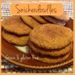 Grain Free Snickerdoodles